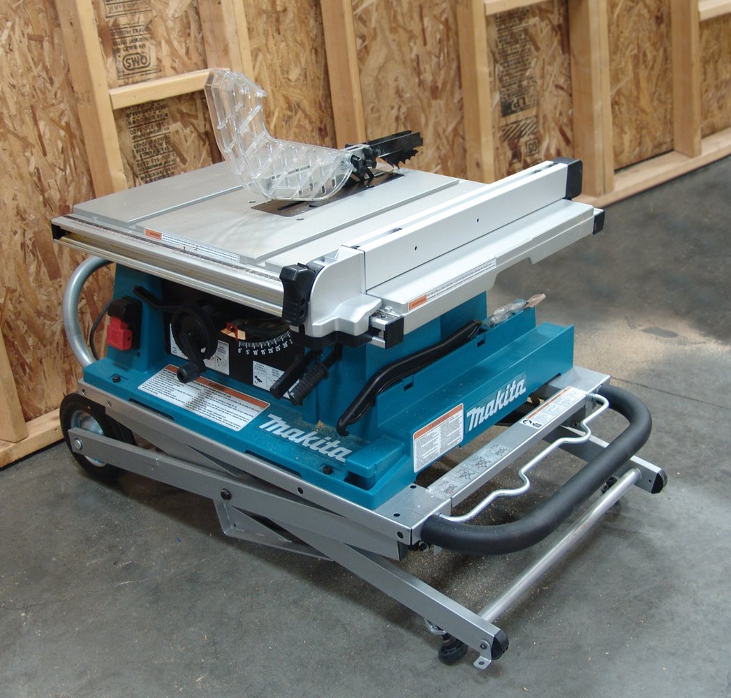 Makita 2705x1 review a contractor table saw Portable table saw reviews