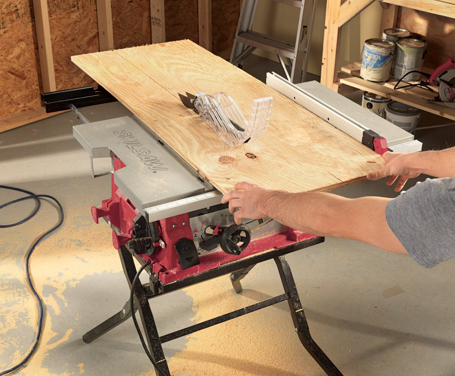 Skil 3410 Review Portable Table Saw Inspection